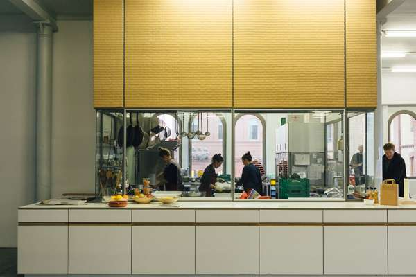 The dedicated kitchen