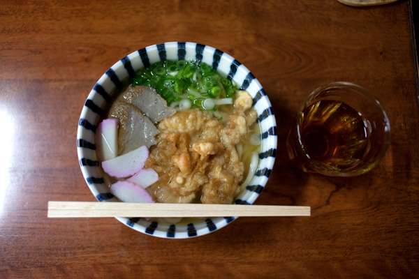 Locals make their own udon in Yamako's kitchen