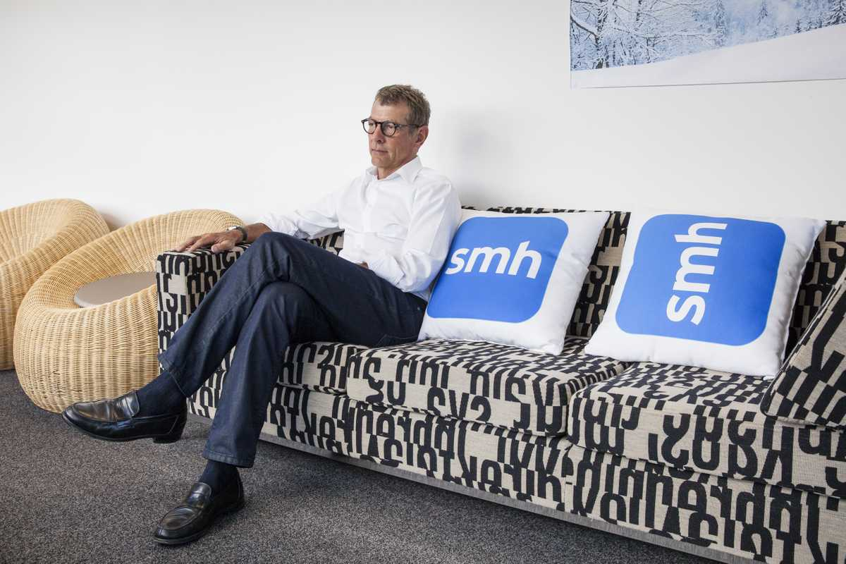 Jack Matthews, CEO of Metro Division, Fairfax Media at the 'Morning Herald' offices