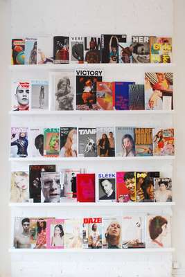 Soop Soop's enviable magazine collection