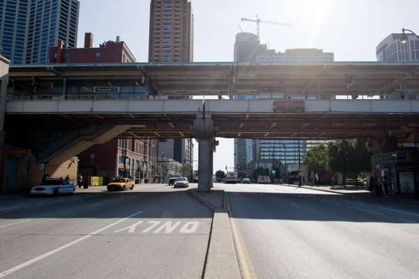 Chicago's elevated 'L' railway