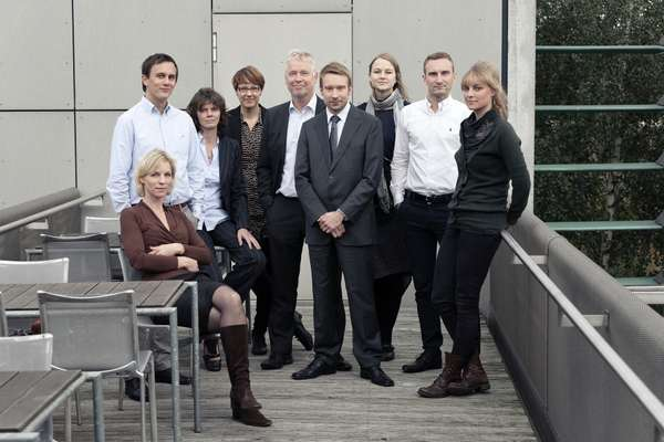 Staff from the Danish, Swedish, Finnish and Icelandic embassies