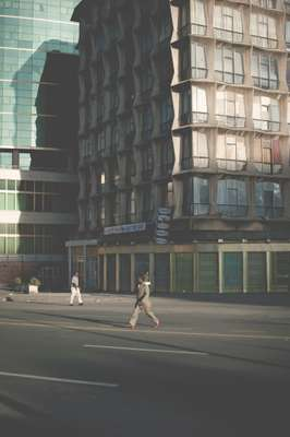 1950s-era tower block in downtown Addis