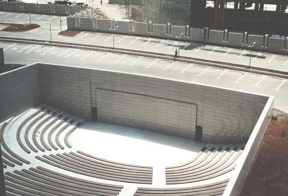 Outdoor ampitheatre, a symbol of transparency