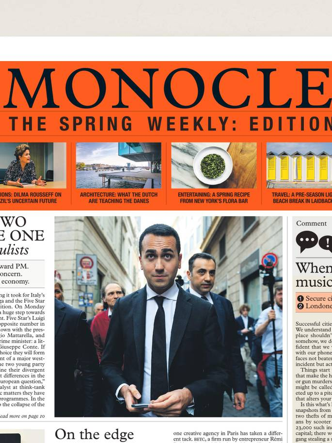 Monocle – The Spring Weekly: issue two