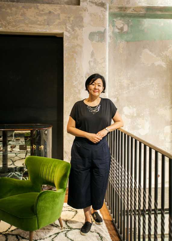 Maria Cheung, director of interiors