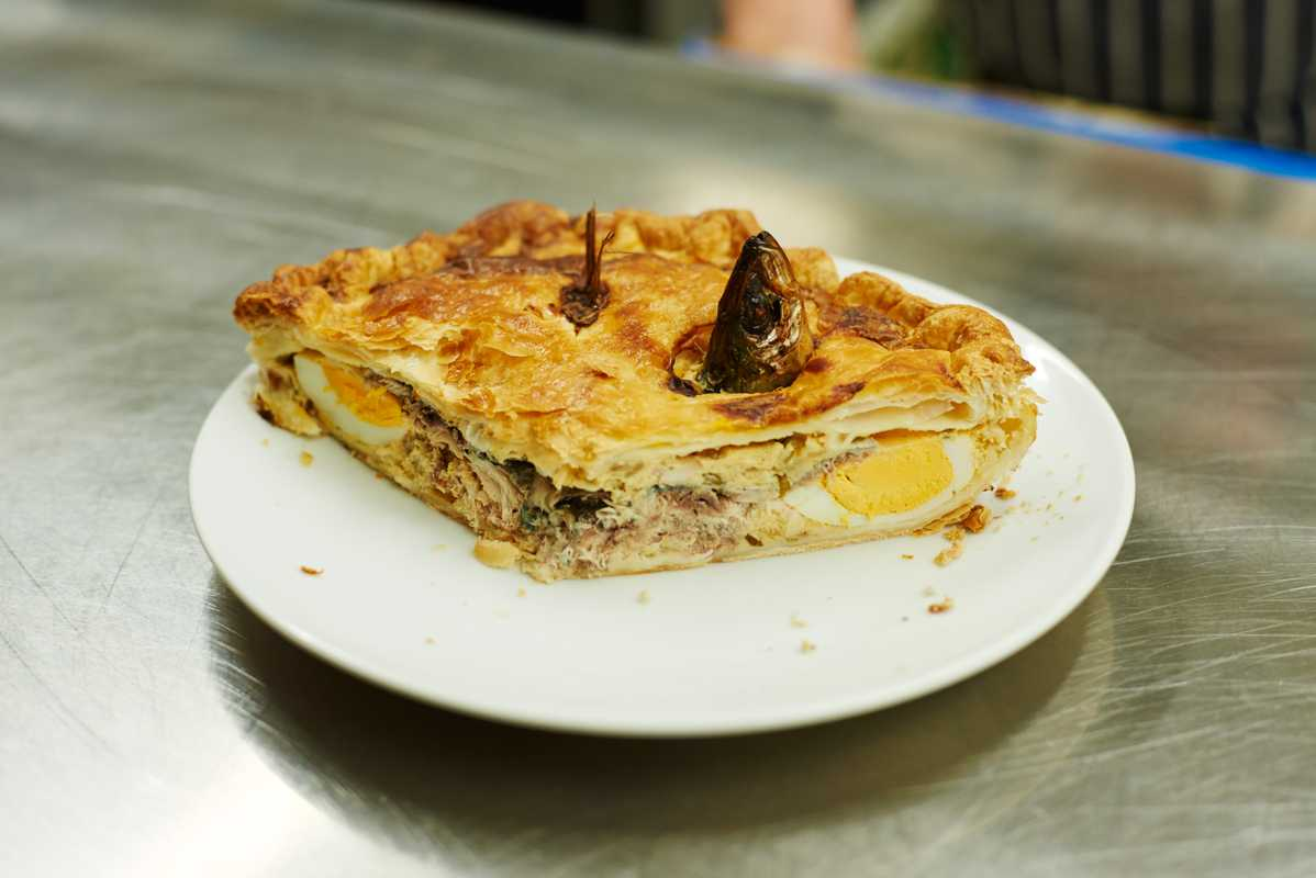 Stargazy Pie at  Field & Green