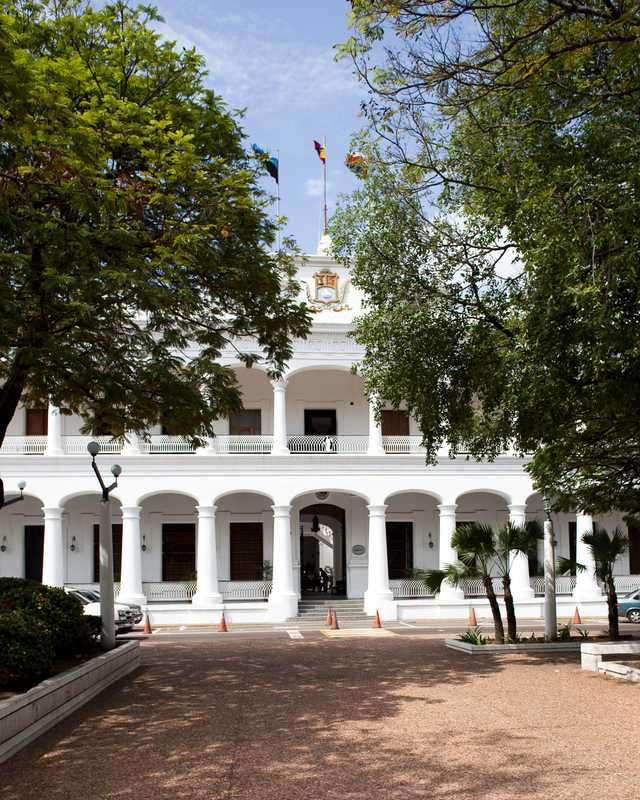 The colonial-era Palacio de Gobierno