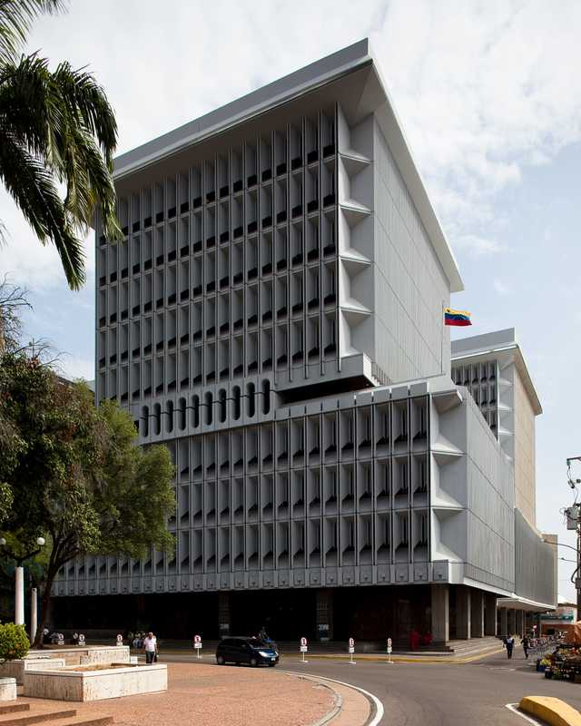 The Maracaibo branch of the Venezuelan Central Bank