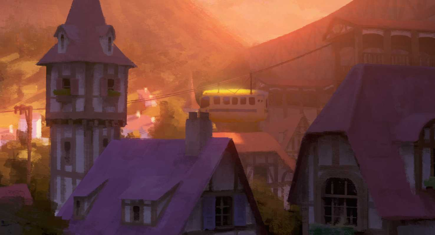 Scene from 'The Dam Keeper'