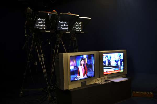 Autocue for GEO News presenters