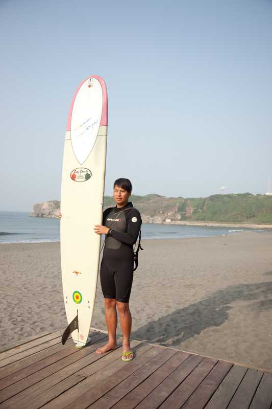 Surfer, Kaohsiung beach