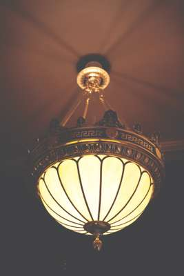 Ornate lighting feature