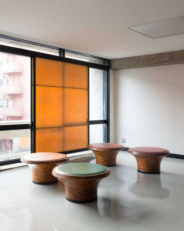 Furniture designed by Isamu Kenmochi