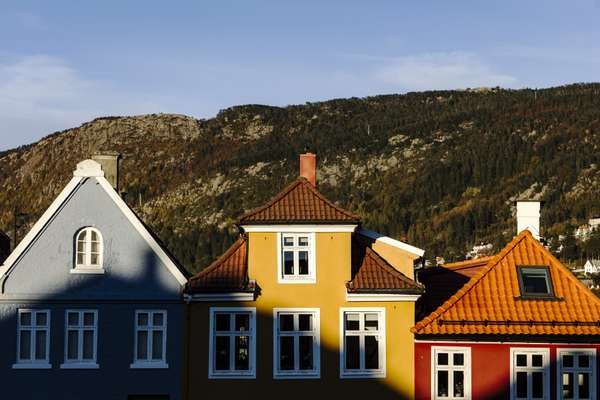 Houses in the Nordnes area