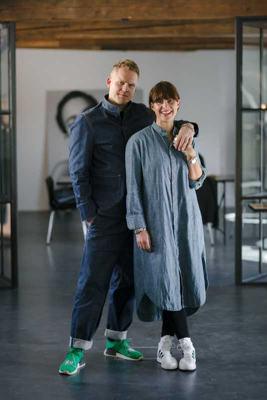 Tom Wood's Morten Isachsen and Mona Jensen