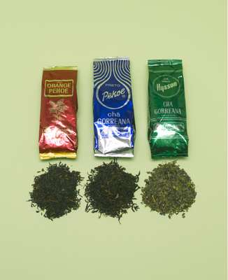 Chá Gorreana, Tea