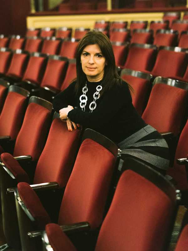 Daniela Bouret, director of  Teatro Solís