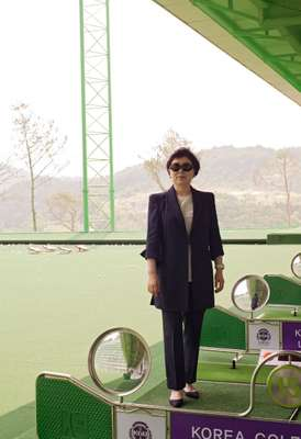 Owner of Korea Golf University and ChungWoo Golf Club