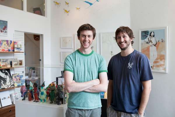Nobrow founders Sam Arthur and Alex Spiro