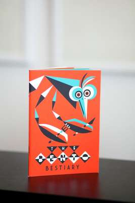 Ben Newman's 'The Bento Bestiary', the first book published by the Nobrow Small Press series in its studio