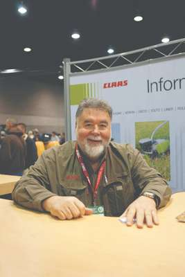Mike Gibbons of Claas