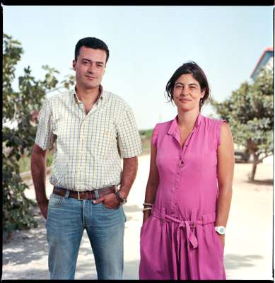 Jorge Casaleiro and Christina Bravo from Herdade da Comporta