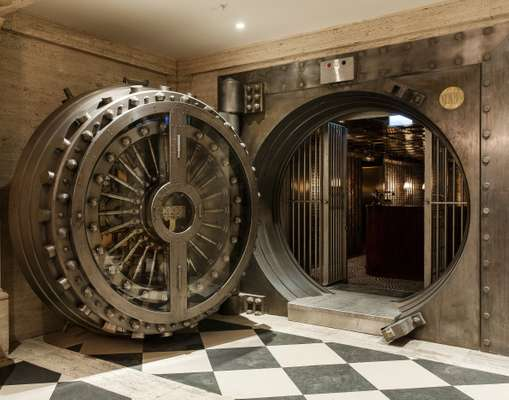 Entrance to the Vault bar