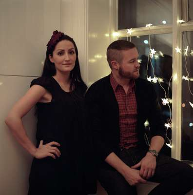 Commercial director Thorhallur Saevarrsson and his girlfriend