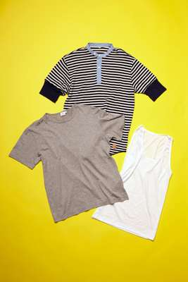 UNDER, Sunspel and Zimmerli T-shirts