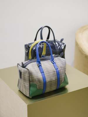 Holdalls from Tibi's debut handbag line