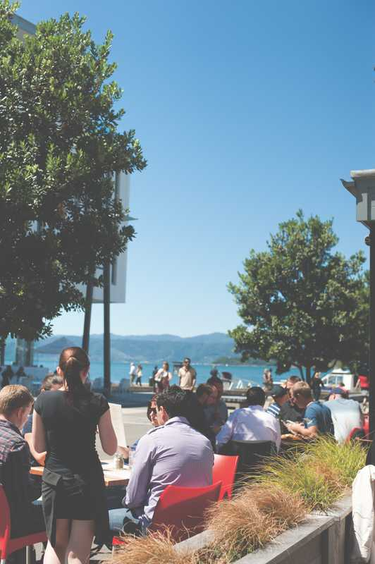Waterfront views, Wellington