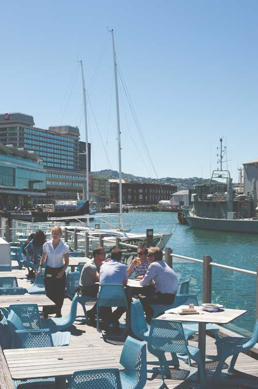 Wellington's waterside redevelopment