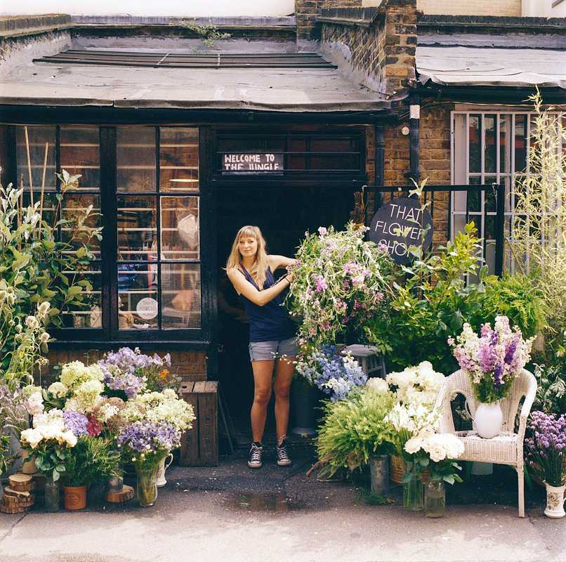 Hattie Fox, owner of That Flower Shop
