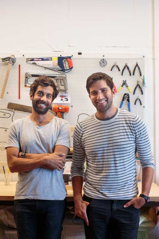 Atolye co-founders Kerem Alper (left) and Engin Ayaz