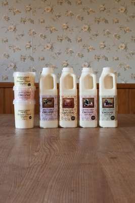 Jess's Ladies Organic Farm Milk