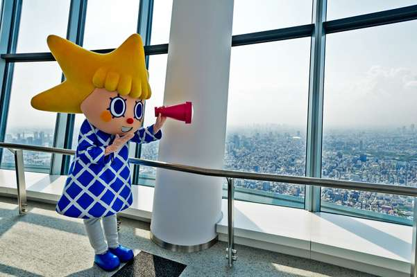 Sorakara, the Skytree mascot