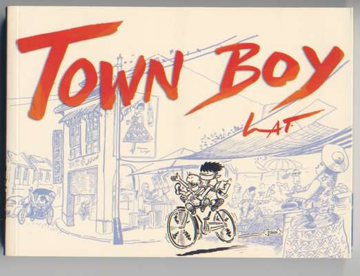 Cover of 'Town Boy', sequel to the hugely popular 'Kampung Boy'