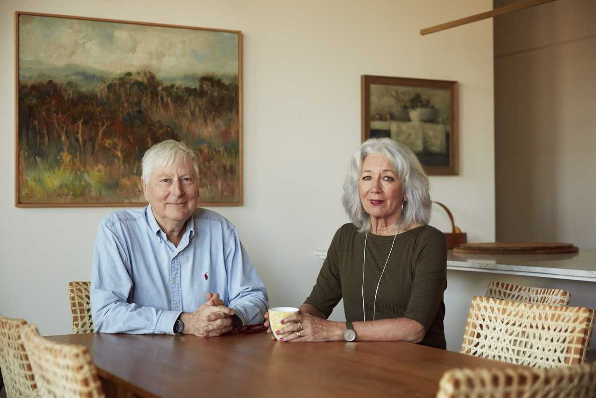 Malcolm Good and his wife Betsy Bradshaw, residents