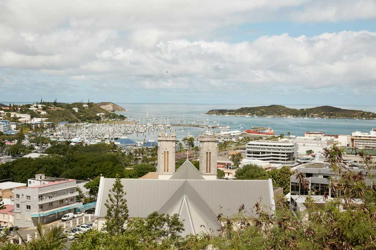 Central Nouméa, the 'Paris of the Pacific'