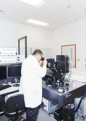 Laser-scanning microscope