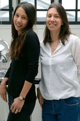 Sisters Val (left) and Vanda Heng-Vong, owners of Aimé