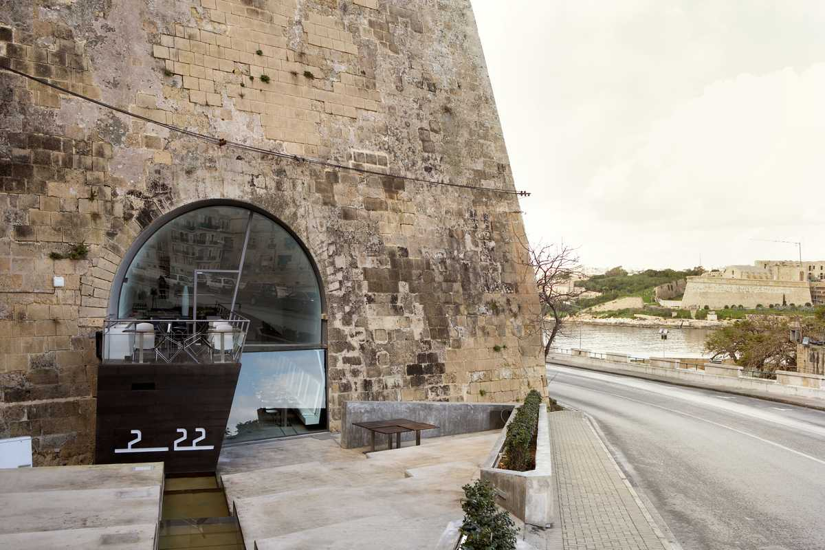 Valletta's hippest hangout, 2 22, owned by Vella