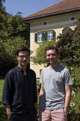 Brothers Klaus (left) and Moritz Dissertori