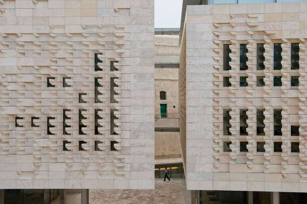 Malta's new Parliament House, designed by Renzo Piano