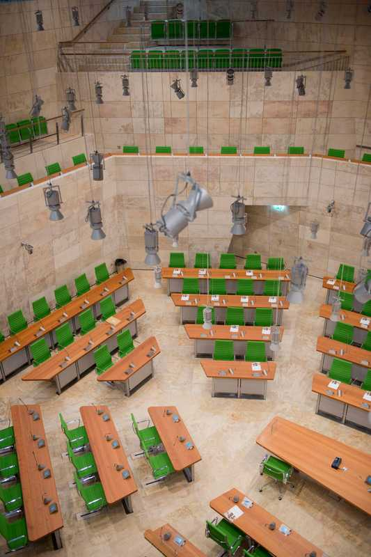 Parliament House's plenary chamber