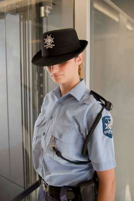 Maltese police officer