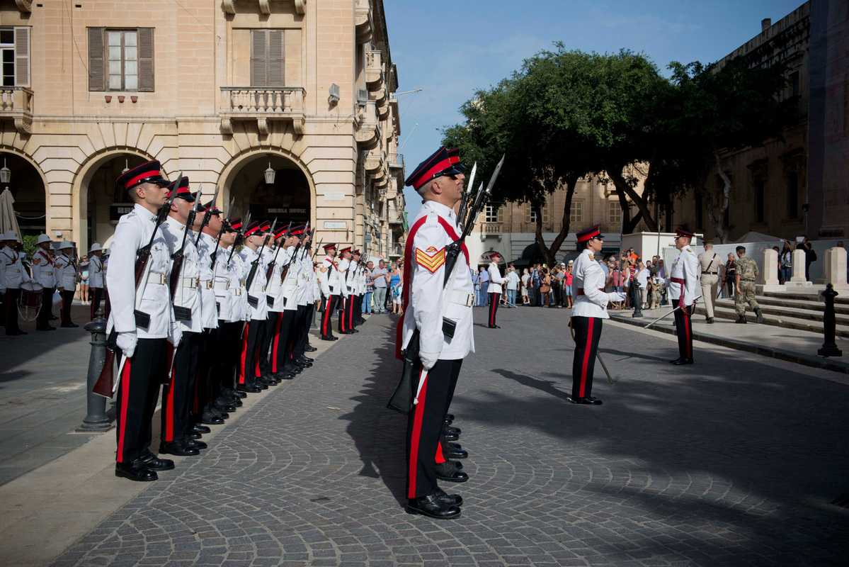 Maltese soldiers