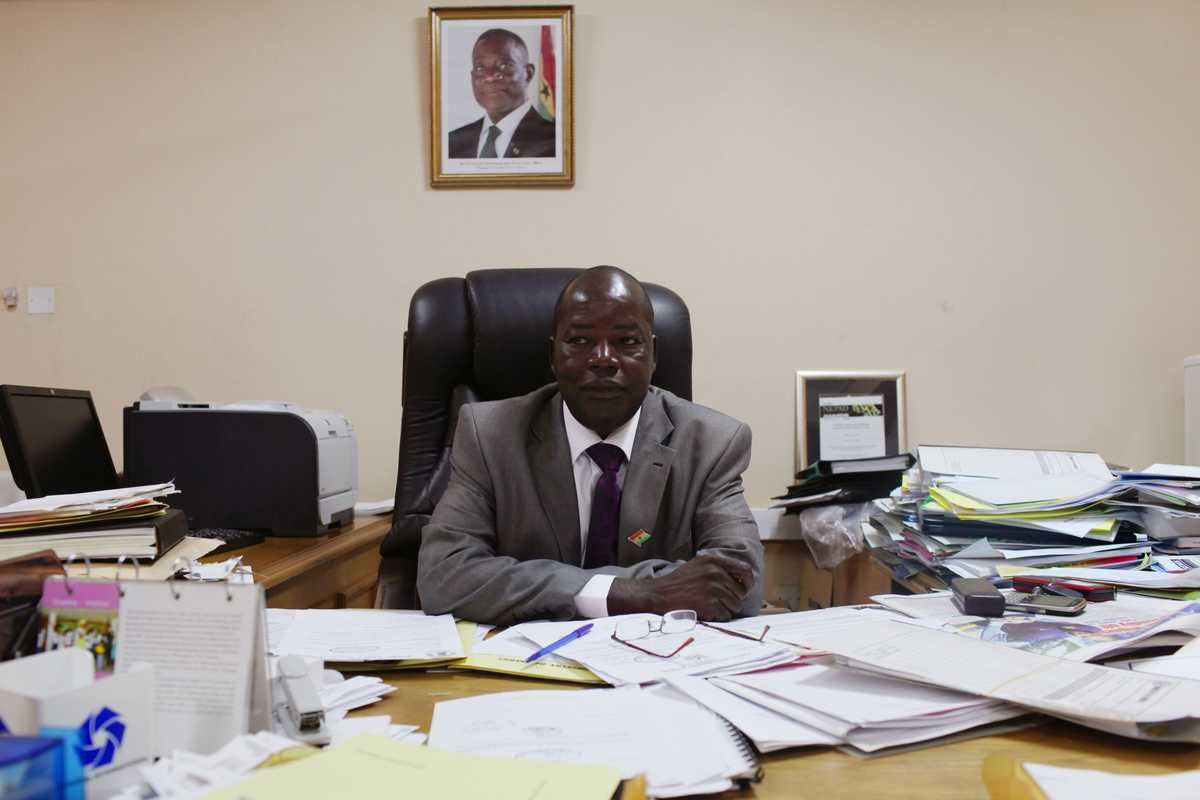 Chief director of Ministry of Energy, Thomas Akabzaa