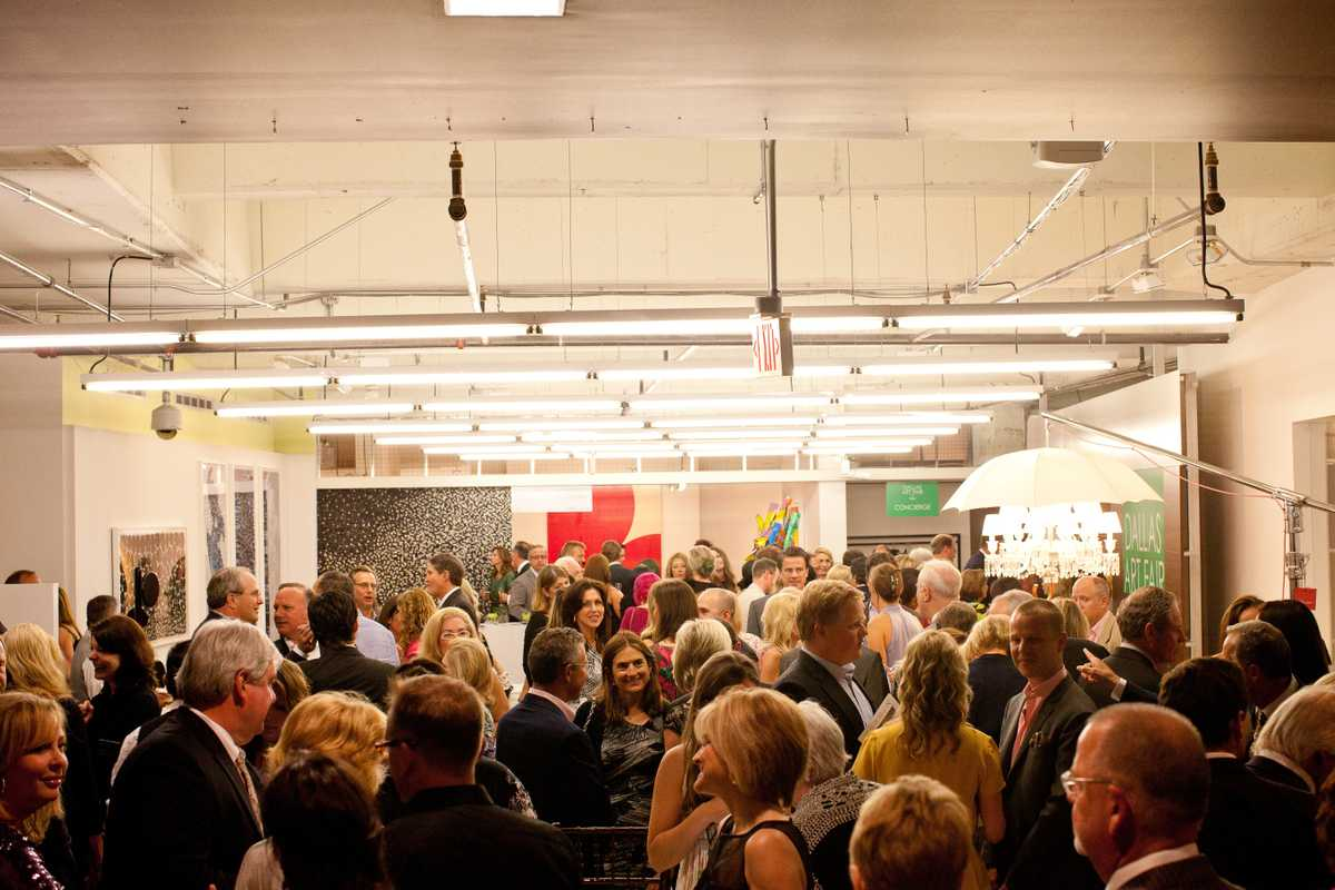 Dallas Art Fair opening gala